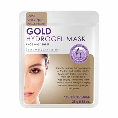 Skin Republic Skin Republic Gold Hydrogel Mask Sheet 25g Renksiz